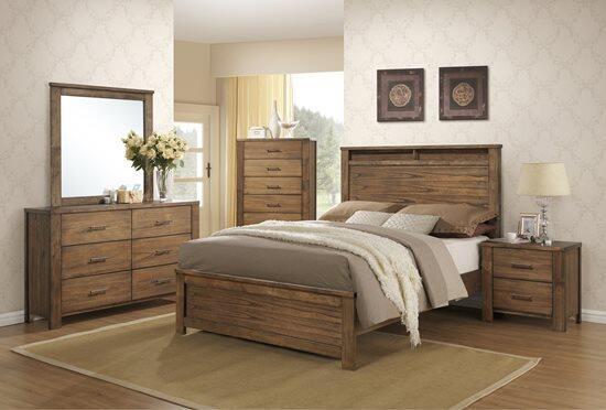 Progressive Furniture Brayden 5 Piece King Size Bedroom Set
