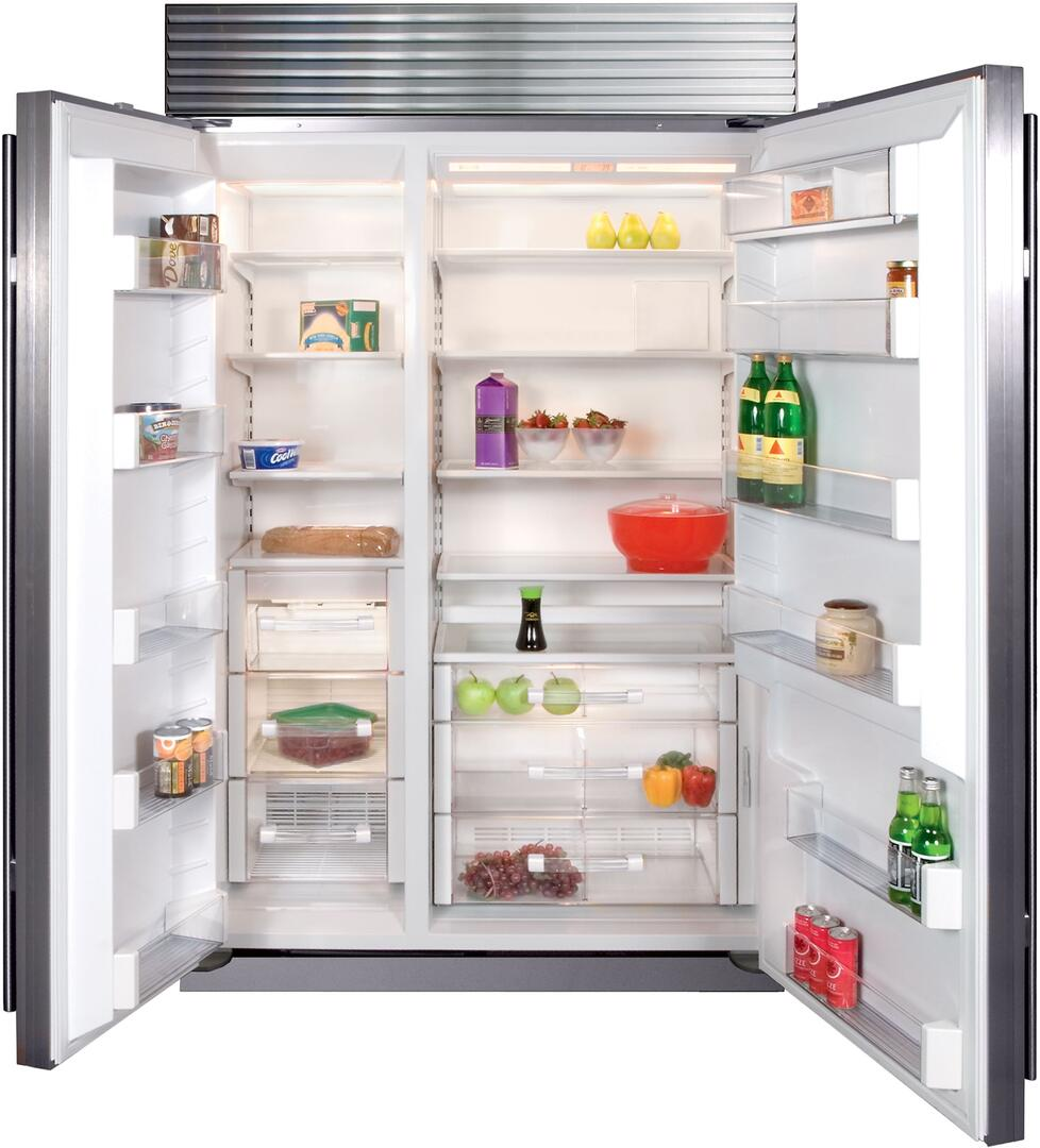 Sub zero counter depth refrigerator -  Sub Zero Interior View