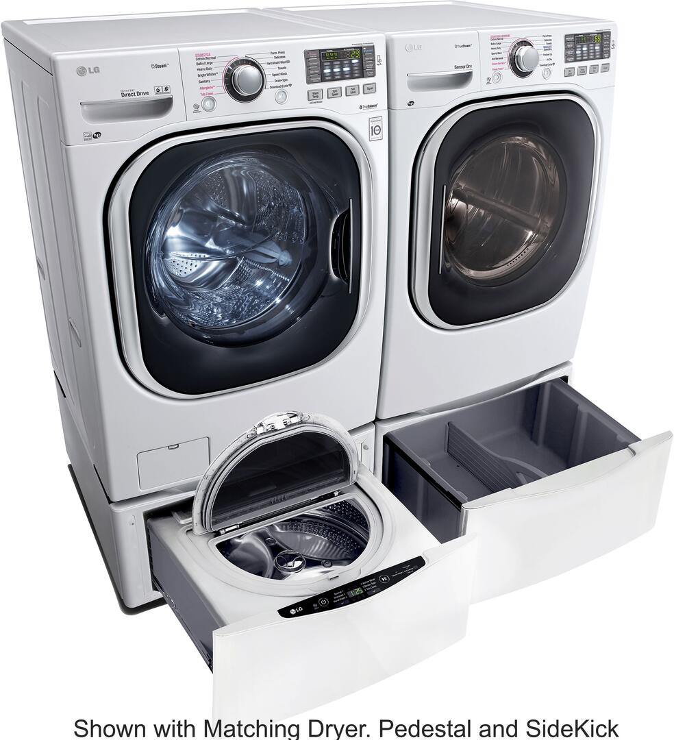 Lg Wm4370hwa 27 Inch White 4 5 Cu Ft Front Load Washer