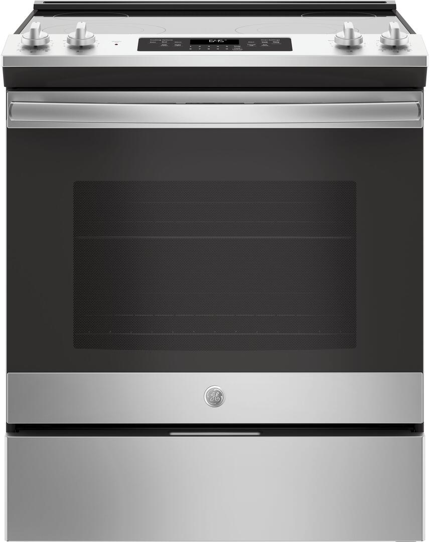 Ge Js645slss 30 Inch Stainless Steel Slide In Electric Range With Cooktop Stove Wiring Diagram Main Image