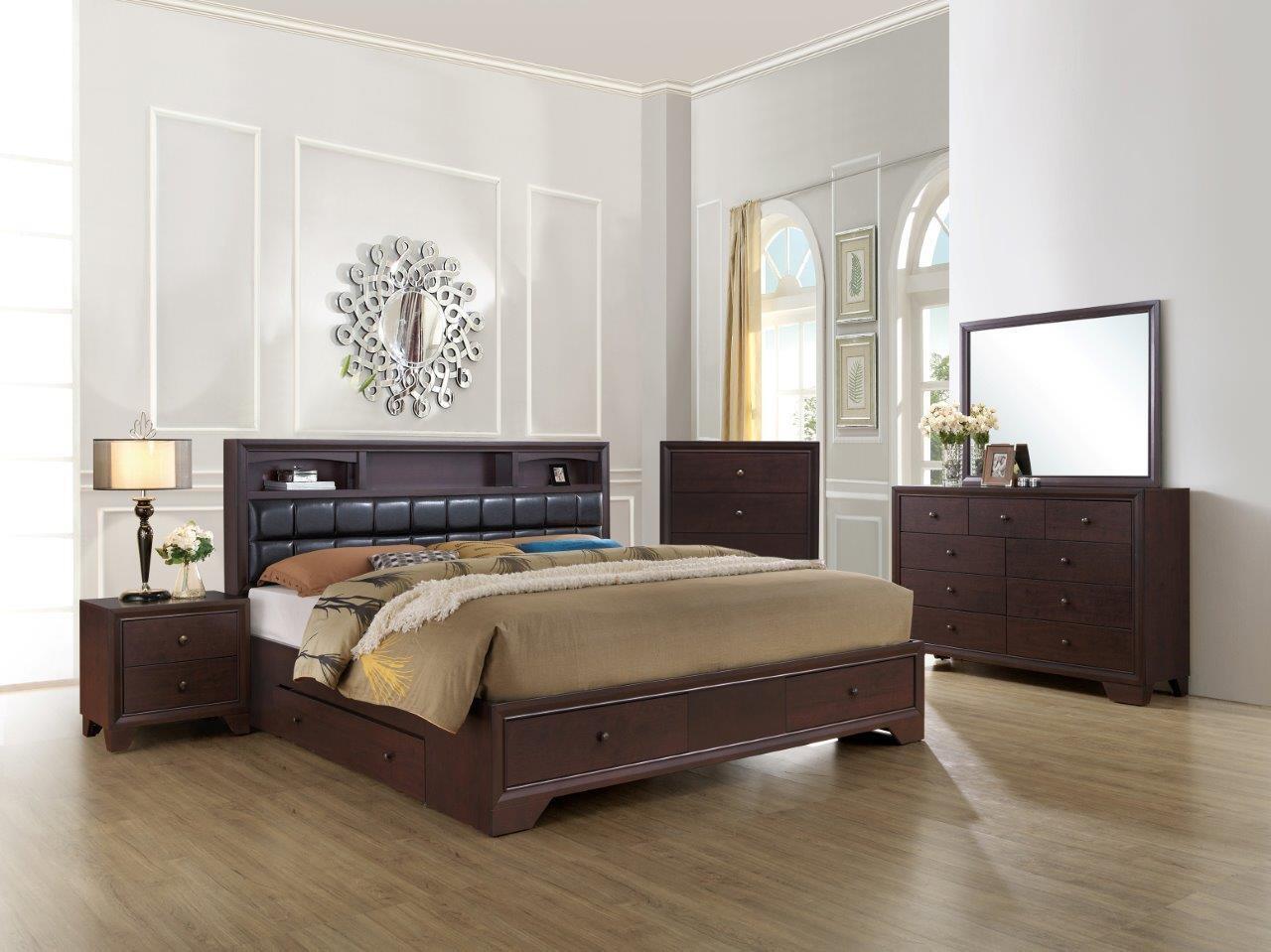 Global Furniture USA NOMAKBSET Noma King Bedroom Sets | Appliances ...