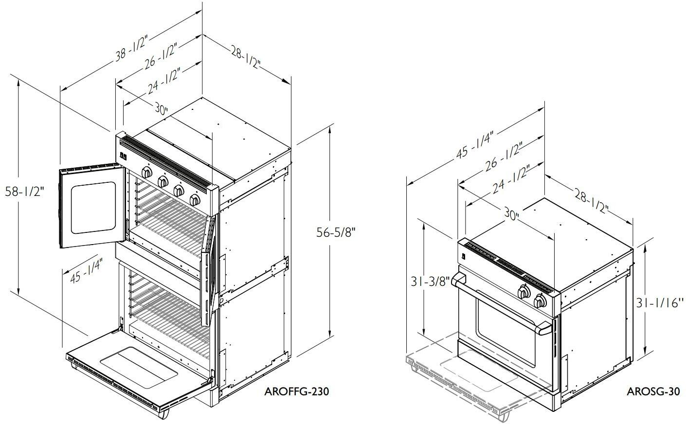 Wiring A Wall Oven 230 Diagram Will Be Thing Electric American Range Arofse230 30 Inch Double In Maytag Installation
