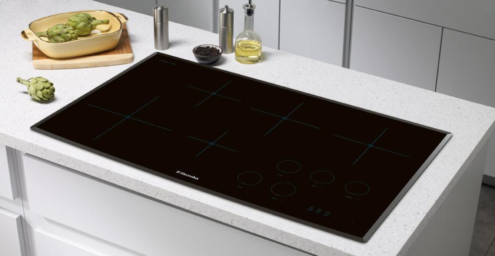 electrolux induction cooktop how to turn on