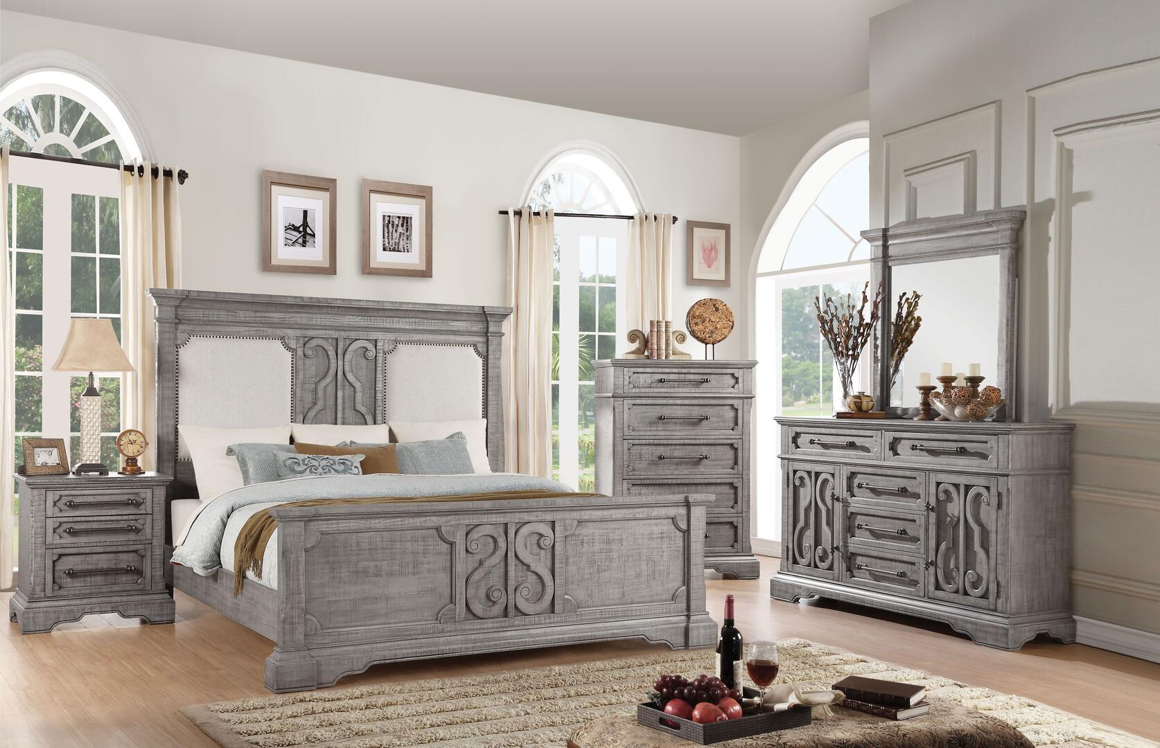 Acme Furniture 27084CKSET Artesia California King Bedroom Se ...