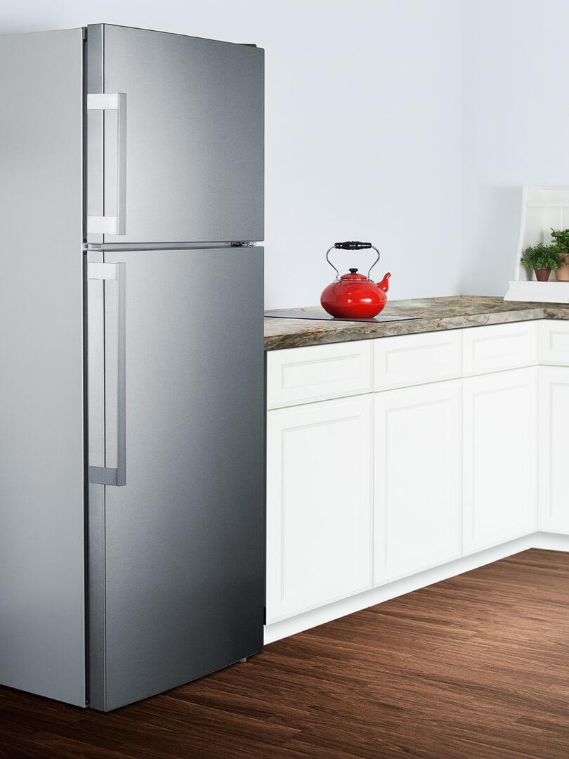 Summit FF1511SS 28 Inch Counter Depth Refrigerator with 12.6 cu. ft ...