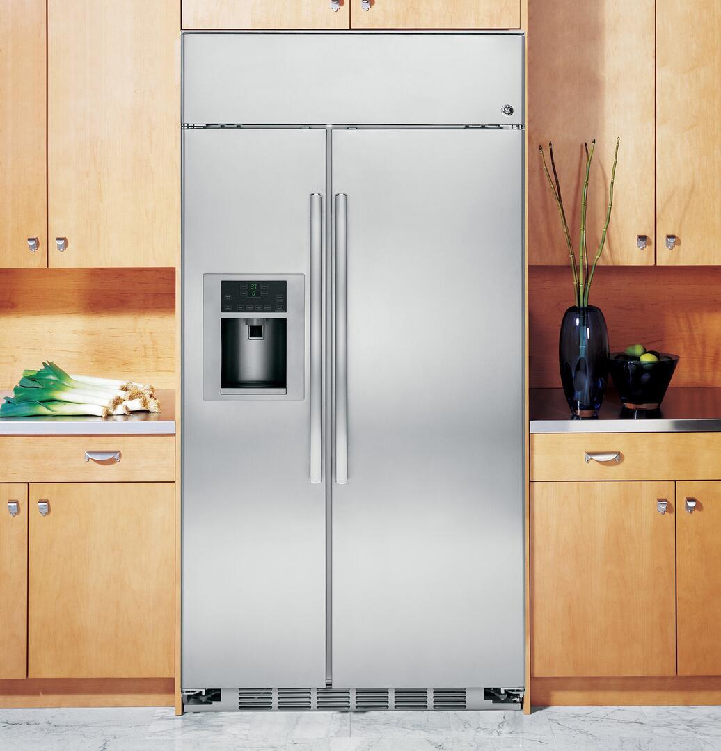 Ge Profile Psb48yshss 48 Inch Side By Side Refrigerator