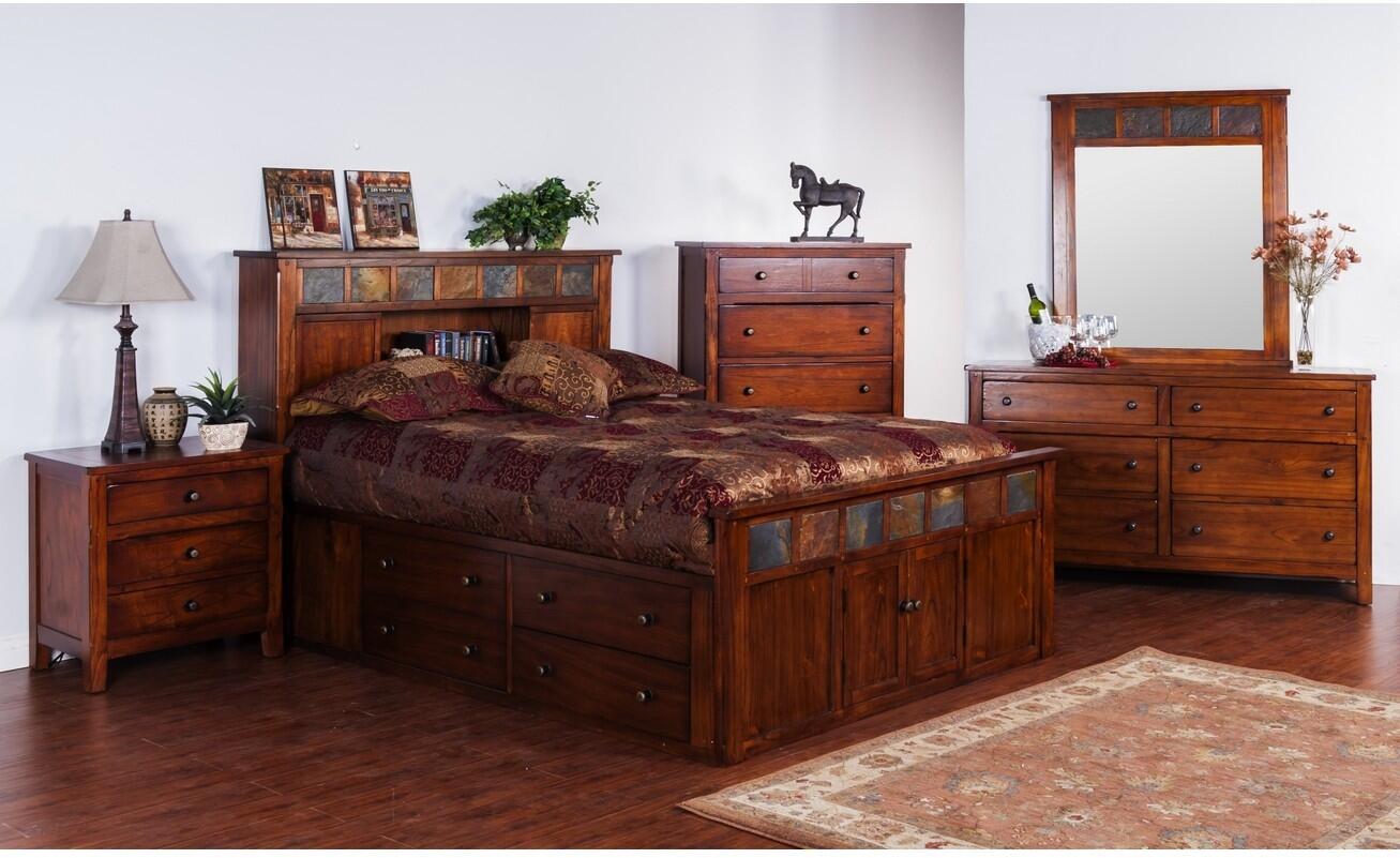 Sunny Designs Santa Fe 5 Piece King Size Bedroom Set