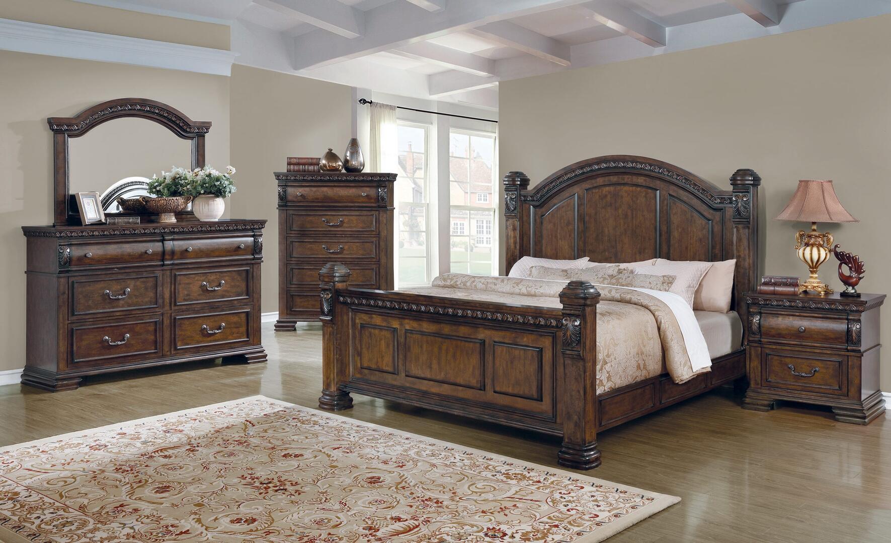 Coaster 204541KES5 Satterfield King Bedroom Sets | Appliances Connection