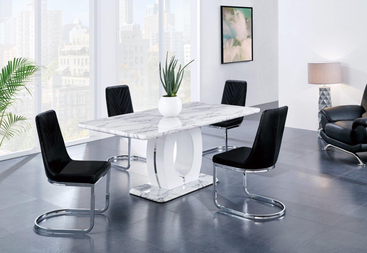 Cool Global Furniture Usa D894Dt4D1067Dcbl Creativecarmelina Interior Chair Design Creativecarmelinacom