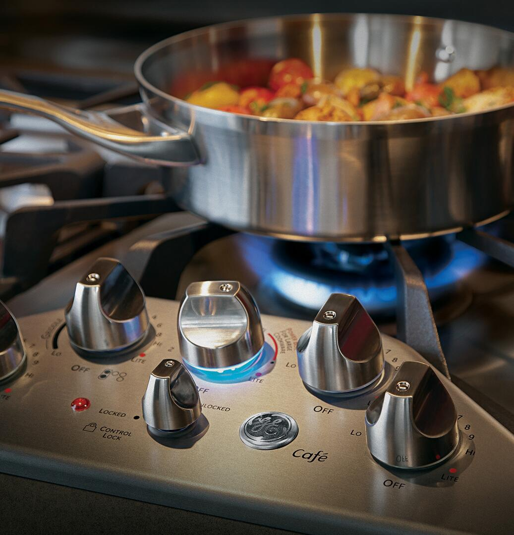 Ge Cafe Cgp650setss 36 Inch Gas Sealed Burner Style