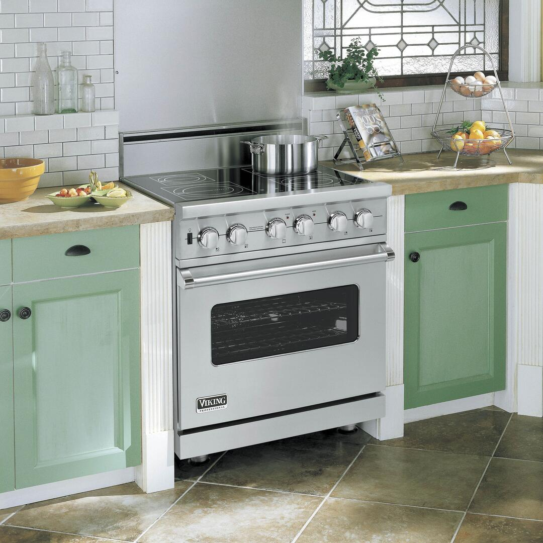 Viking VISC5304BSS 30 Inch 5 Series Electric Freestanding Range ...