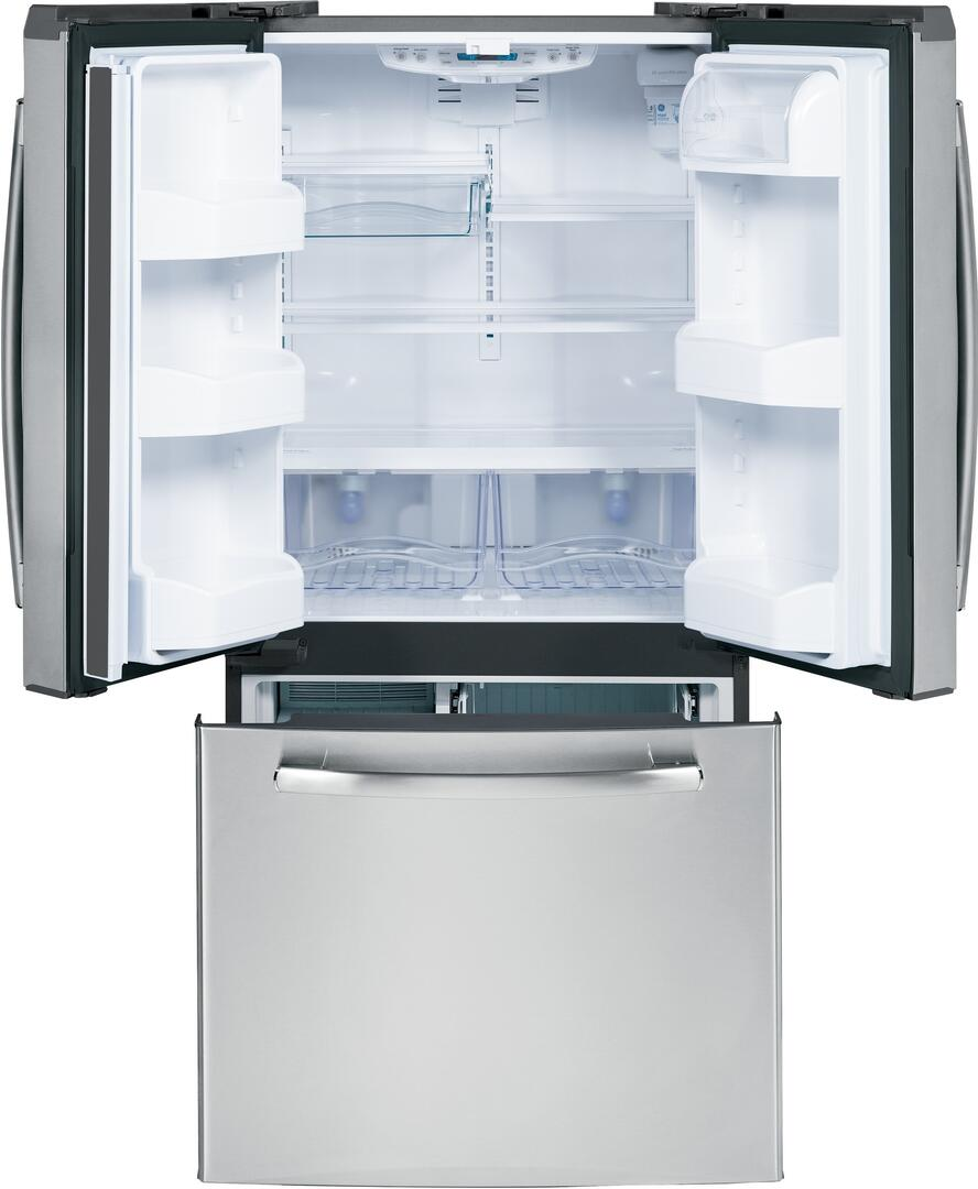 Ge Gns23gshss 33 Inch French Door Refrigerator With 22 7