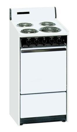 Summit WEM1171Q Kitchen Electric Cooking Range, White