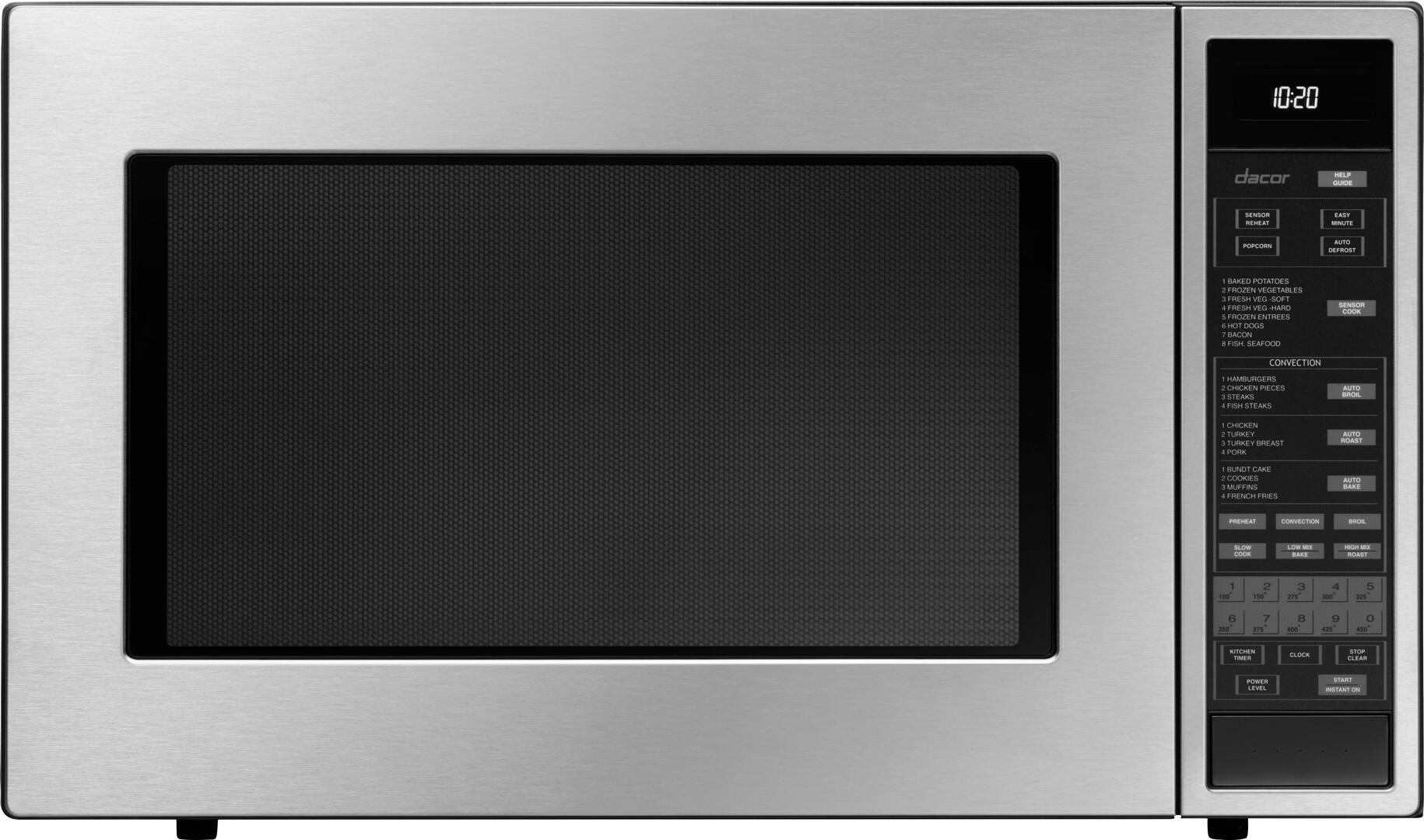 Dacor Dcm24s Stainless Steel Built In Microwave Oven
