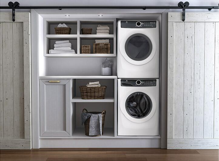 electrolux stackable washer and dryer. electrolux luxcare sample installation with washer, dryer and stacking kit stackable washer a