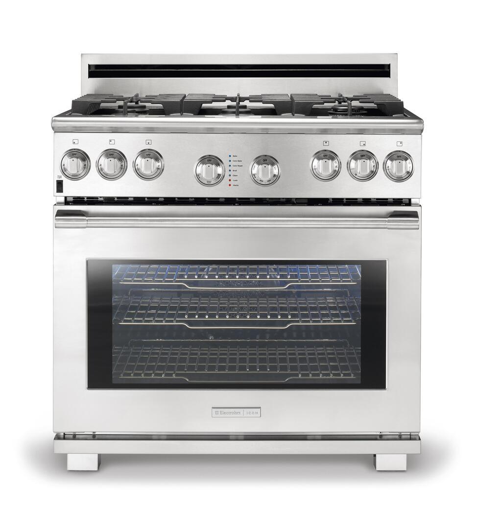 Electrolux icon e36gf76jps 36 inch professional series gas - Instrumentos de cocina ...