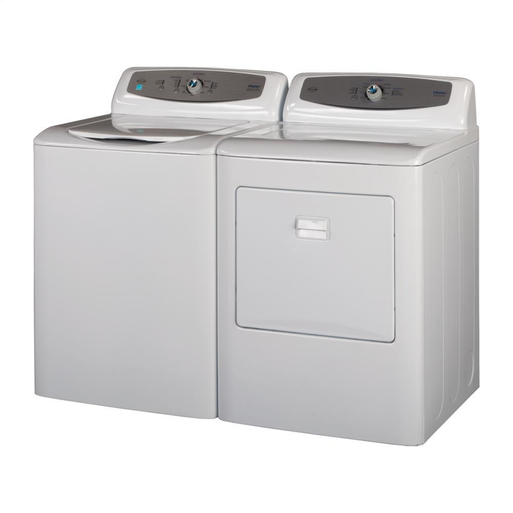 Haier Rde350aw 27 Inch 6 5 Cu Ft Electric Dryer In