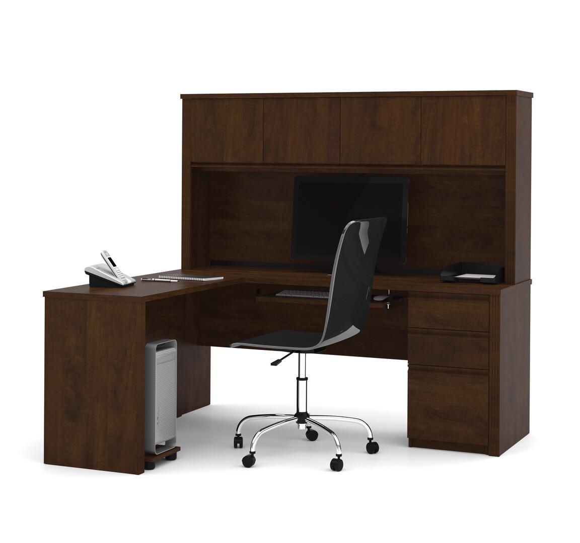 Bestar furniture 9987269 modern l shape office desk for Furniture 5 years no interest