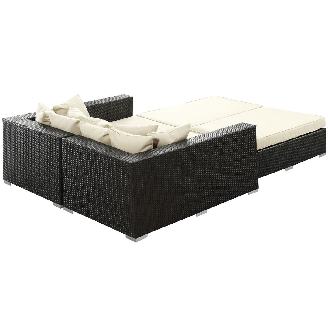 Modway EEI613EXPWHISET 104 Inch Outdoor Bed Appliances