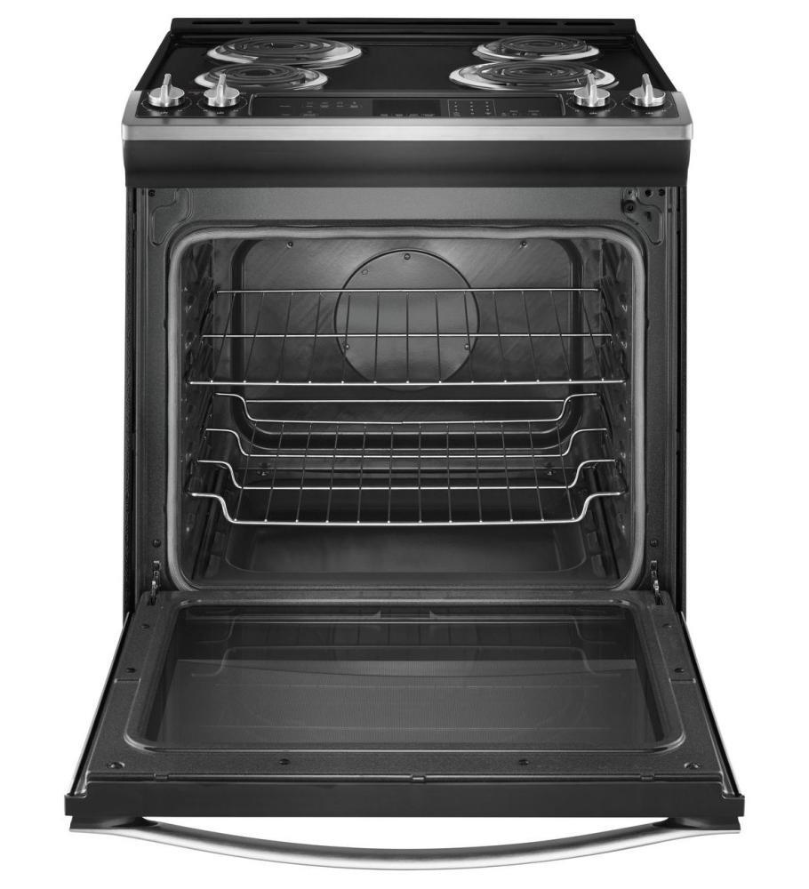 Whirlpool Wec530h0dw 30 Inch Slide In Electric Range With