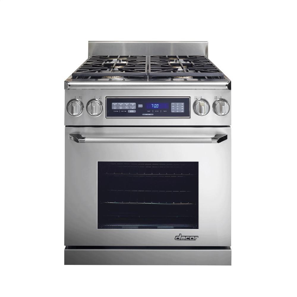 Dacor er30dschng 30 inch renaissance series dual fuel for Dacor cooktop