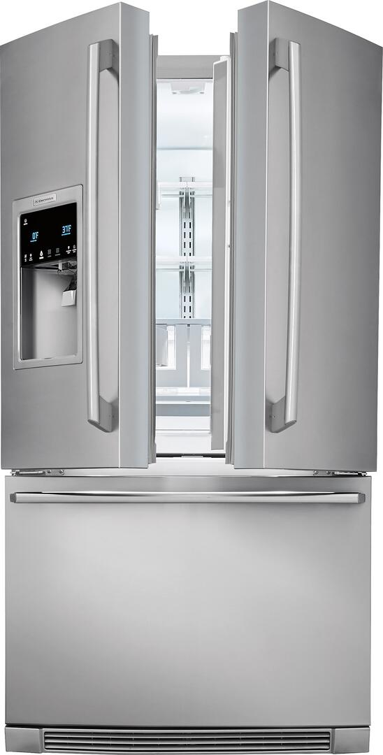 electrolux main image electrolux slightly open view