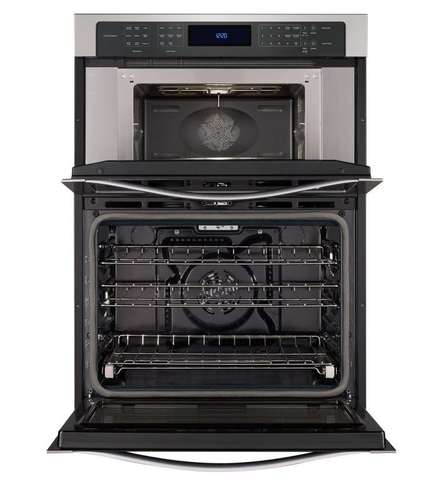 Whirlpool Woc97es0es 30 Inch Oven Microwave Combo Double