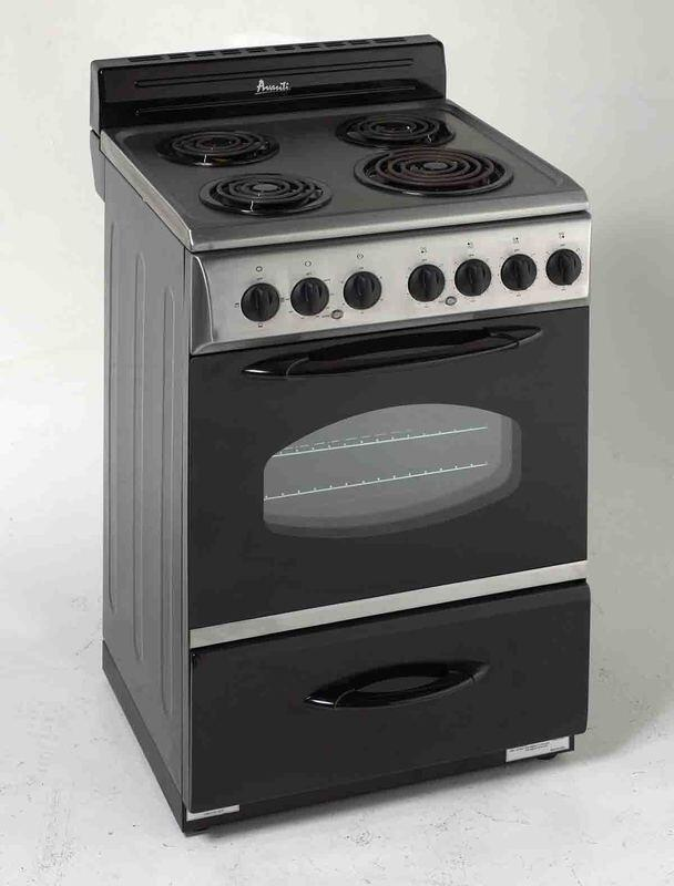 Avanti Er2402css 24 Inch Electric Freestanding Range With