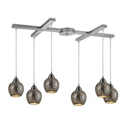 ELK Lighting 102086SLV