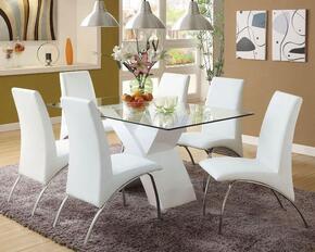 Furniture of America CM8370WHTDT6SC