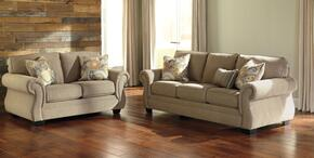 Tailya Collection 47700SL 2-Piece Living Room Set with Sofa and Loveseat in Barley