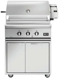 "Freestanding Grill with BH1-30R-N 30"" Natural Gas Grill on CAD1-30 Freestanding Cart"