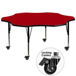 Flash Furniture XUA60FLRREDTPCASGG