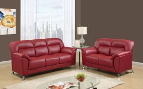 Global Furniture U9102REDSOFAL
