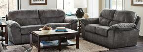 Atlee Collection 44312PCQSTLKIT1P 2-Piece Living Room Sets with Sofa Beds, and Loveseat in Pewter