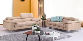 A973 Collection 179061113SL 2-Piece Living Room Set with Stationary Sofa, and Loveseat in Peanut