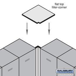 Salsbury Industries 33338MAP