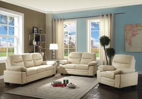 G680SET 3 PC Living Room Set with Sofa + Loveseat + Armchair in Putty Color
