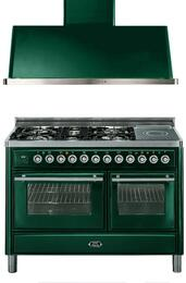 2-Piece Emerald Green Kitchen Package with UMT120SDMPVS 48