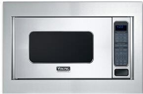 "Professional 5 VMOS201SS 24"" Countertop Microwave with 2.0 cu. ft. Capacity and VMTK302SS 30"" Trim Kit, in Stainless Steel"