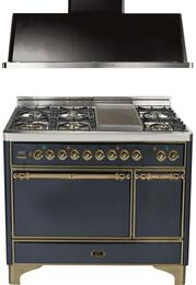 2-Piece Matte Graphite Kitchen Package with UMC120FDMPMY 48