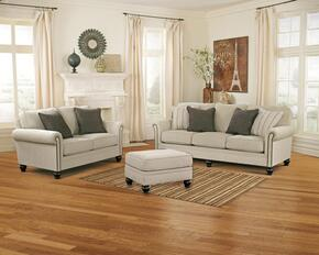 Elisabeth Collection MI-4861SLO-LINE 3-Piece Living Room Set with Sofa, Loveseat and Ottoman in Linen