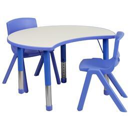 Flash Furniture YUYCY0930032CIRTBLBLUEGG