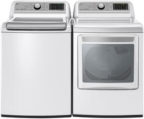 White Top Load Laundry Pair with WT7200CW 27