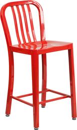 Flash Furniture CH6120024REDGG