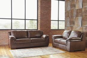 Caiden Collection MI-2872SL-CANY 2 PC Living Room Set with Sofa + Loveseat in Canyon Color