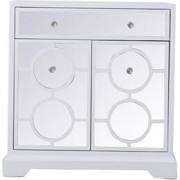 Elegant Decor MF81002WH