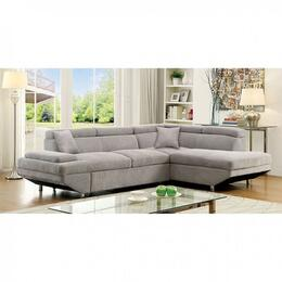 Furniture of America CM6124GYSECTIONAL