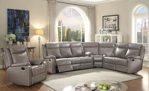 Glory Furniture G763SECTIONALGREY