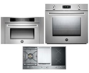 Professional Series 3-Piece Stainless Steel Kitchen Package with F30PROXE 30